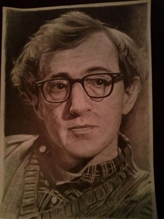 Woody Allen by Denniz83